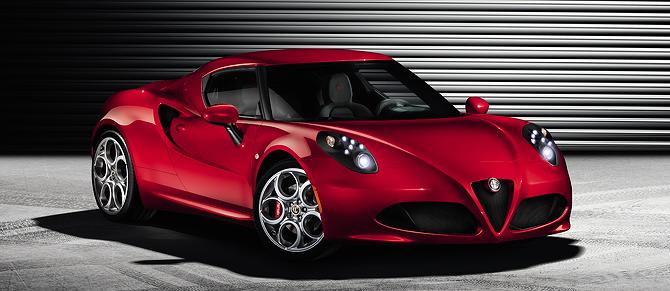 Alfa Romeo 4C at Geneva Motor Show
