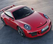 The 2014 Porsche 911 GT3