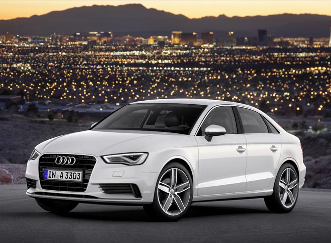 New Market for Audi A3 Sedan