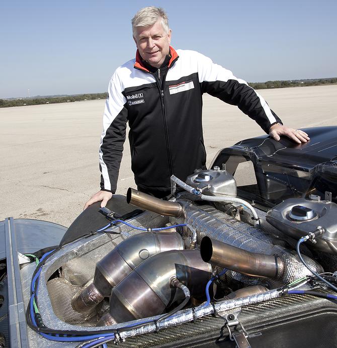 Engine: Porsche 918 Hybrid