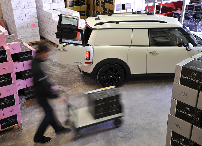 MINI Clubvan D for Delivery