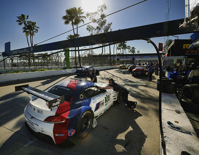 Pit Stop for BMW Z4