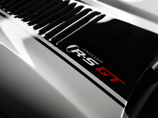 Jaguar XKR-S GT Coupe Louvered Bounet