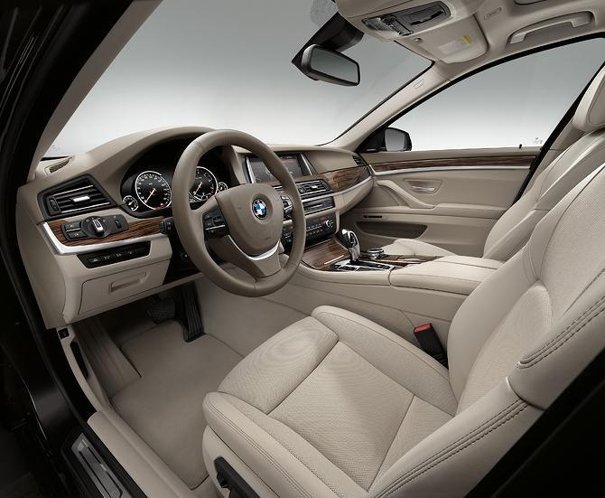 BMW 5 Series interior