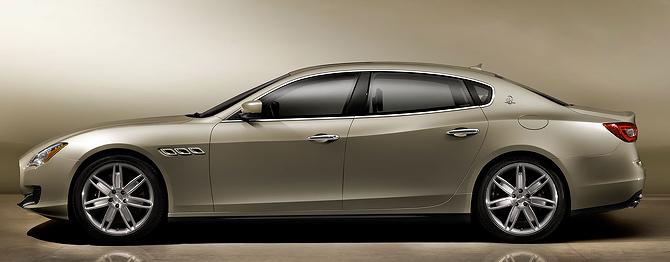 Maserati Quattroporte Side