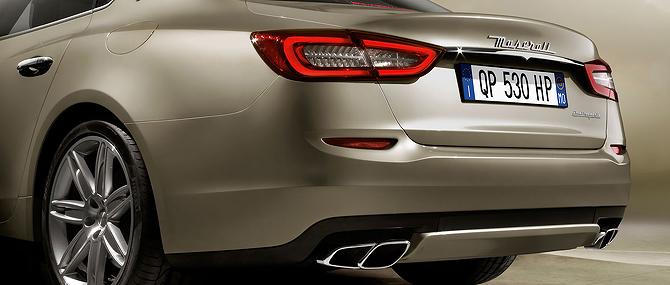 Maserati Quattroporte Rear