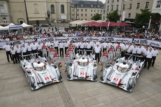 2013 Team Audi - Le Mans, France