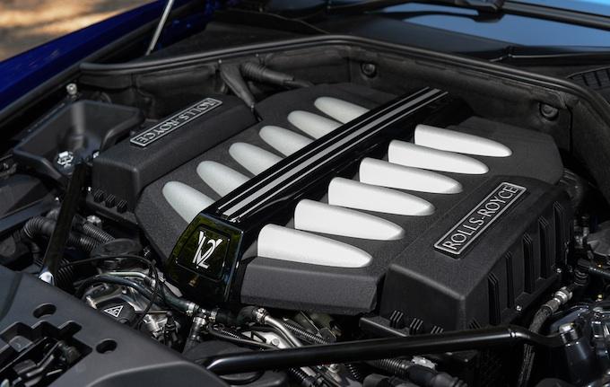 Rolls-Royce Wraith engine overall