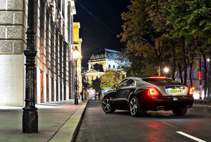 Rolls-Royce Wraith elegant
