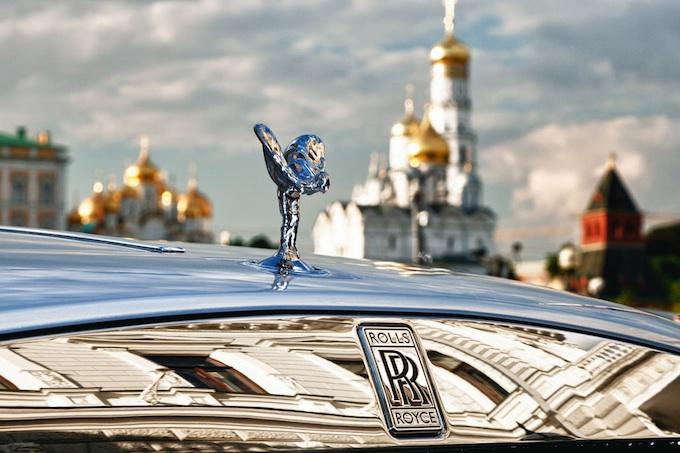 Rolls-Royce Wraith ornament