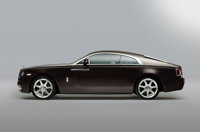 Rolls-Royce Wraith side view