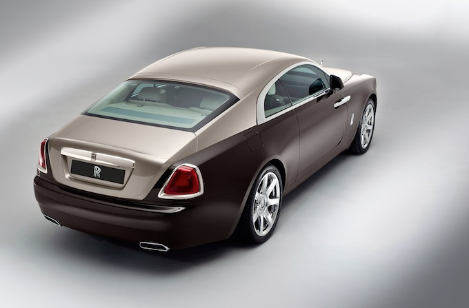 Rolls-Royce Wraith rear passenger side