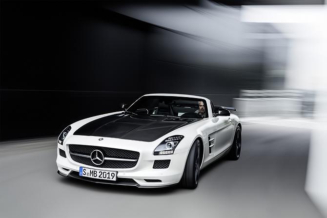 Mercedes-Benz SLS AMG GT at the LA Autoshow