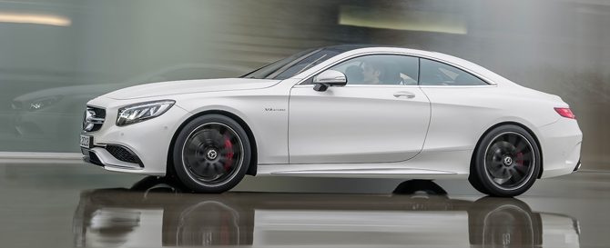 S63 AMG Coupe Air Suspension