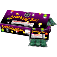 Cracking Balls Box - Dragon Eggs - Ground Spinners - Novelties - Fireworks