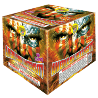 American Intensity - 9 Shots - 500 Gram cakes - Fireworks