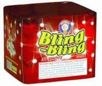 Bling Bling - Bling-bling - 36 Shots - 200 Gram Aerials - Fireworks