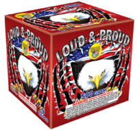 Loud & Proud - 9 Shots - 500 Gram Aerials - Fireworks