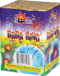 bada Bing - 16 Shots - 200 GRam Aerials - Fireworks