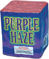 Purple Haze - 16 Shots - 200 Gram Aerials - Fireworks - All Hail Jay