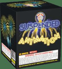 Suspended Animation - 25 Shots - 200 Gram Aerials - Fireworks