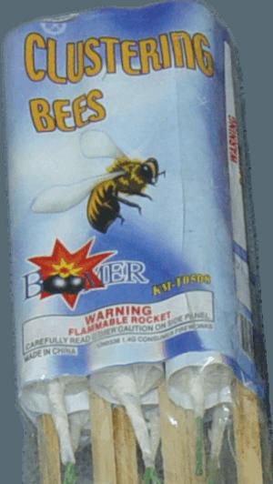 Clustering Bees - Rockets - Bottle Rockets - Stick Rockets - Fireworks