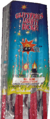 Glitterous Light - Rockets - Bottle Rockets - Stick Rockets - Fireworks