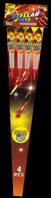 Stellar Jets - Rockets - Bottle Rockets - Stick Rockets - Fireworks
