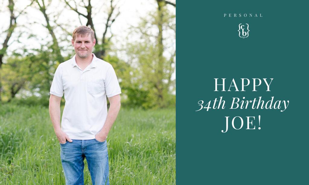 Joe's Birthday | Iowa Wedding Photographer | CB Studio