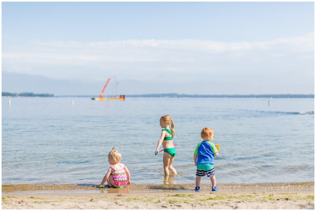 Family Vacation at Lake Okoboji, Iowa | Terrace Beach Park | CB Studio
