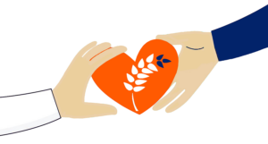 OFB hands and heart