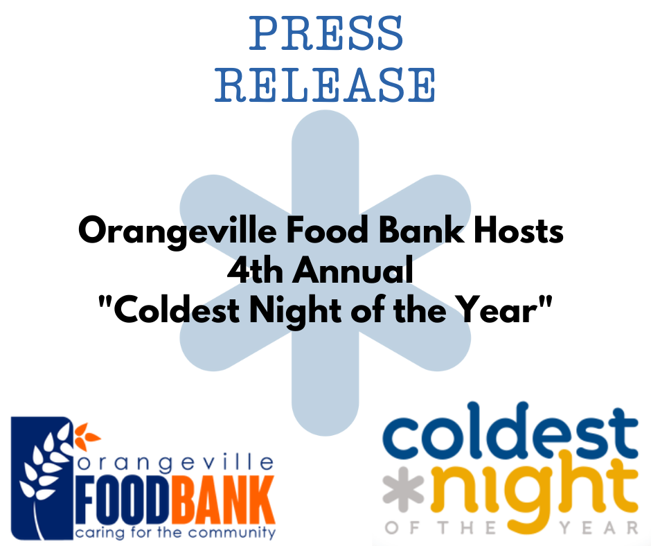 Coldest Night of the Year Press Release