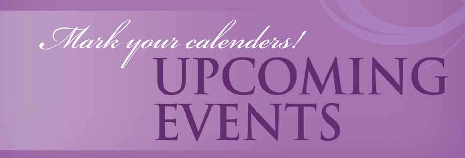 Events & Fundraisers!