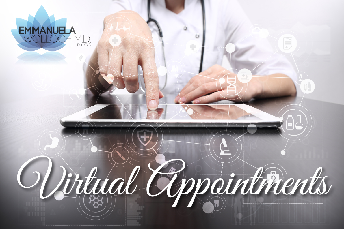 Virtual Appointments available!