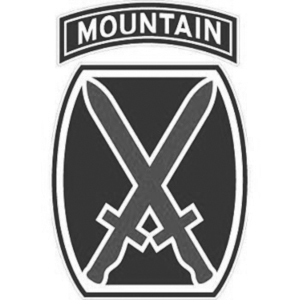 Fort Drum 10th Mountain Division logo