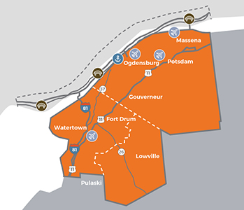 economic development map