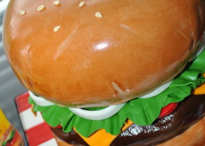 hamburger-cake