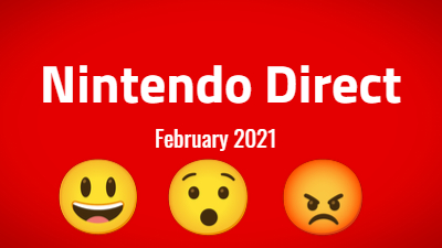 Nintendo Direct 2021 Announcements