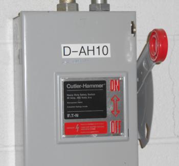 lockout tagout energy control procedure