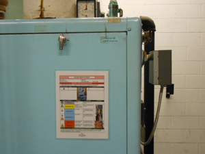 lockout procedures on machines