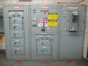 electrical panel explosion
