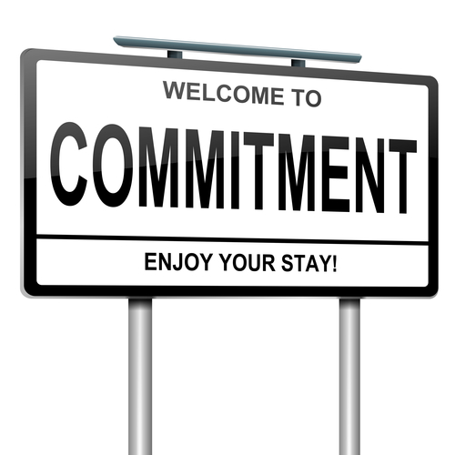 Commitment label