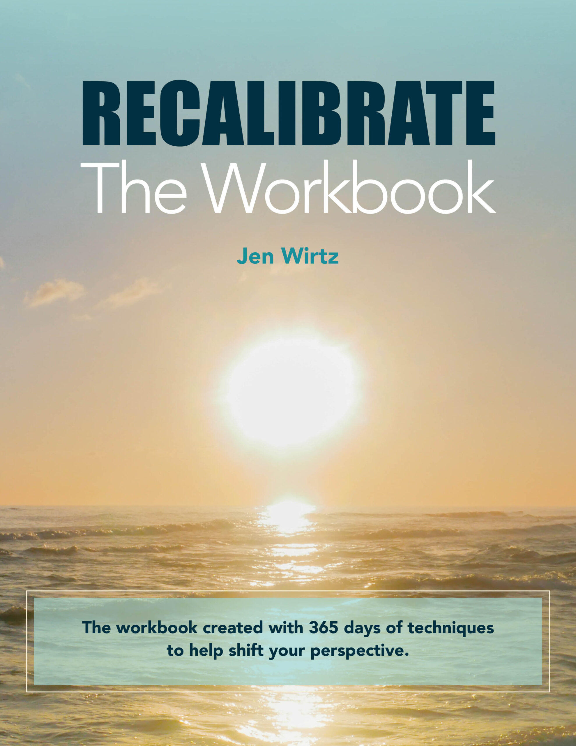 Recalibrate workbook
