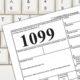 1099 form 2020 filing paperwork
