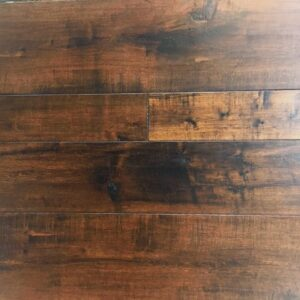 Engineered Hand Scraped Wood