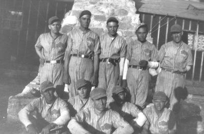 Co. 842, Blue Buffalo baseball
