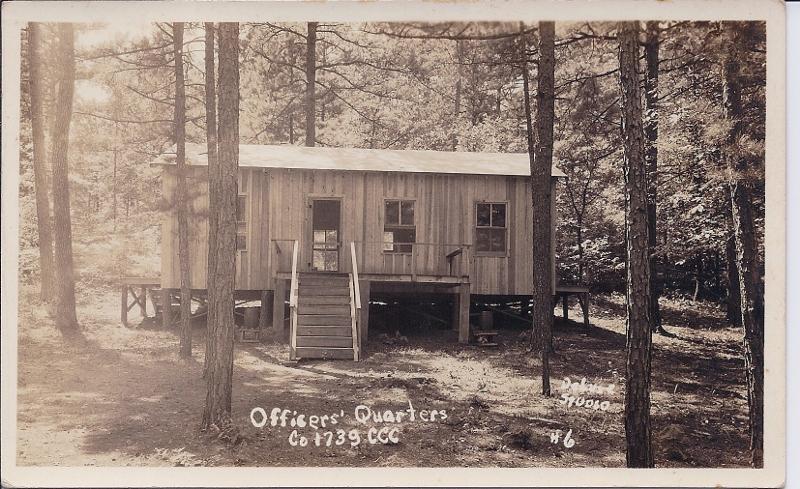 Co. 1739-F-15 Jessieville, AR - Officers Quarters