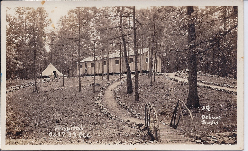 Co. 1739-F-15 Camp Jessevile, Hospital