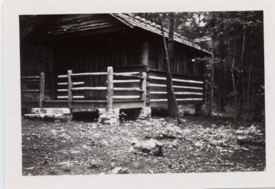 Catoctin Cabin front porch