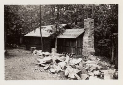 Catoctin construction of Cabin